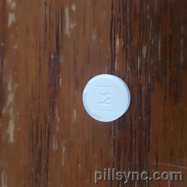 M 3 ROUND WHITE - acetaminophen and codeine phosphate tablet - bryant ranch prepack