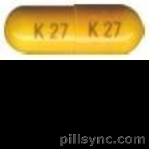 CAPSULE YELLOW K 27 Phentermine Hydrochloride 30 MG Oral Capsule